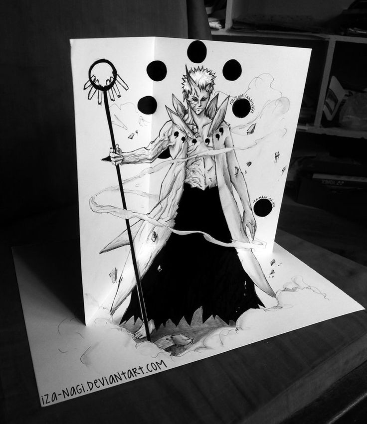 Drawn paper naruto Art by Mind best Unleashed