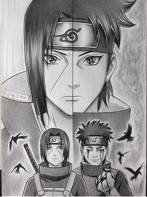 Drawn naruto art Naruto Drawing Naruto Naruto and