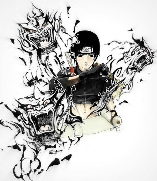 Drawn naruto awesome That Best on Sai (Naruto