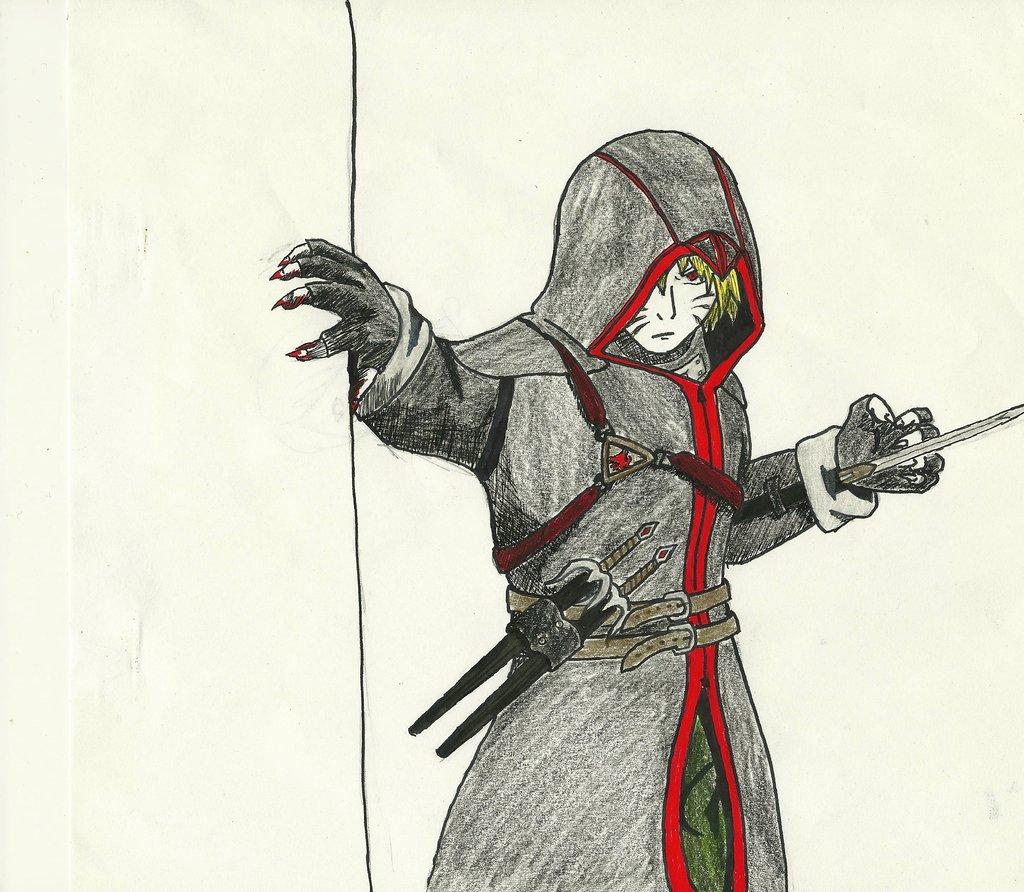 Drawn naruto badass Creed Badass Assassin's meets Pics