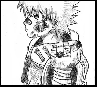 Drawn naruto badass By AWESOMENINJA360 naruto! AWESOMENINJA360 DeviantArt
