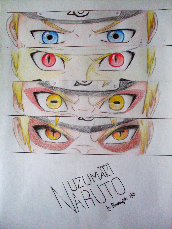 Drawn naruto badass Eyes eyes Naruto by on