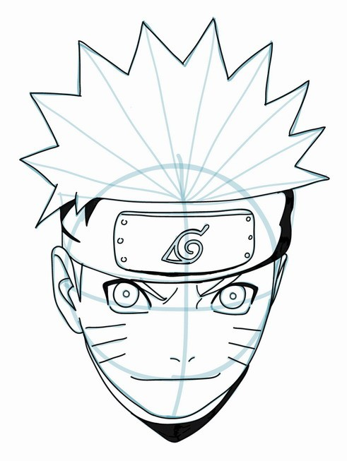 Drawn naruto beginner How to Art Naruto Clip