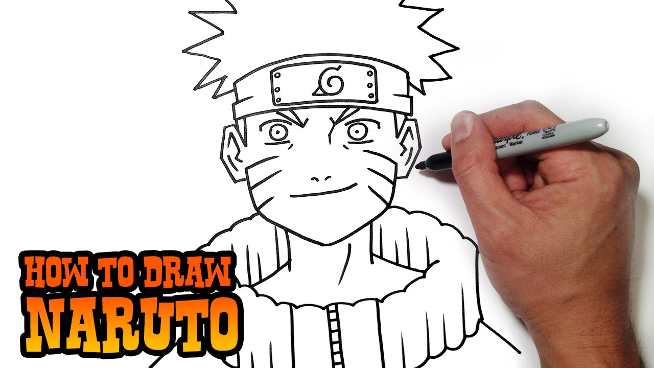Drawn naruto beginner How to Lesson Video Draw