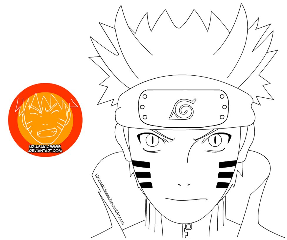 Drawn naruto bijuu Res] Bijuu Lineart [High by
