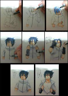 Drawn naruto boy Draw To naruto this anime