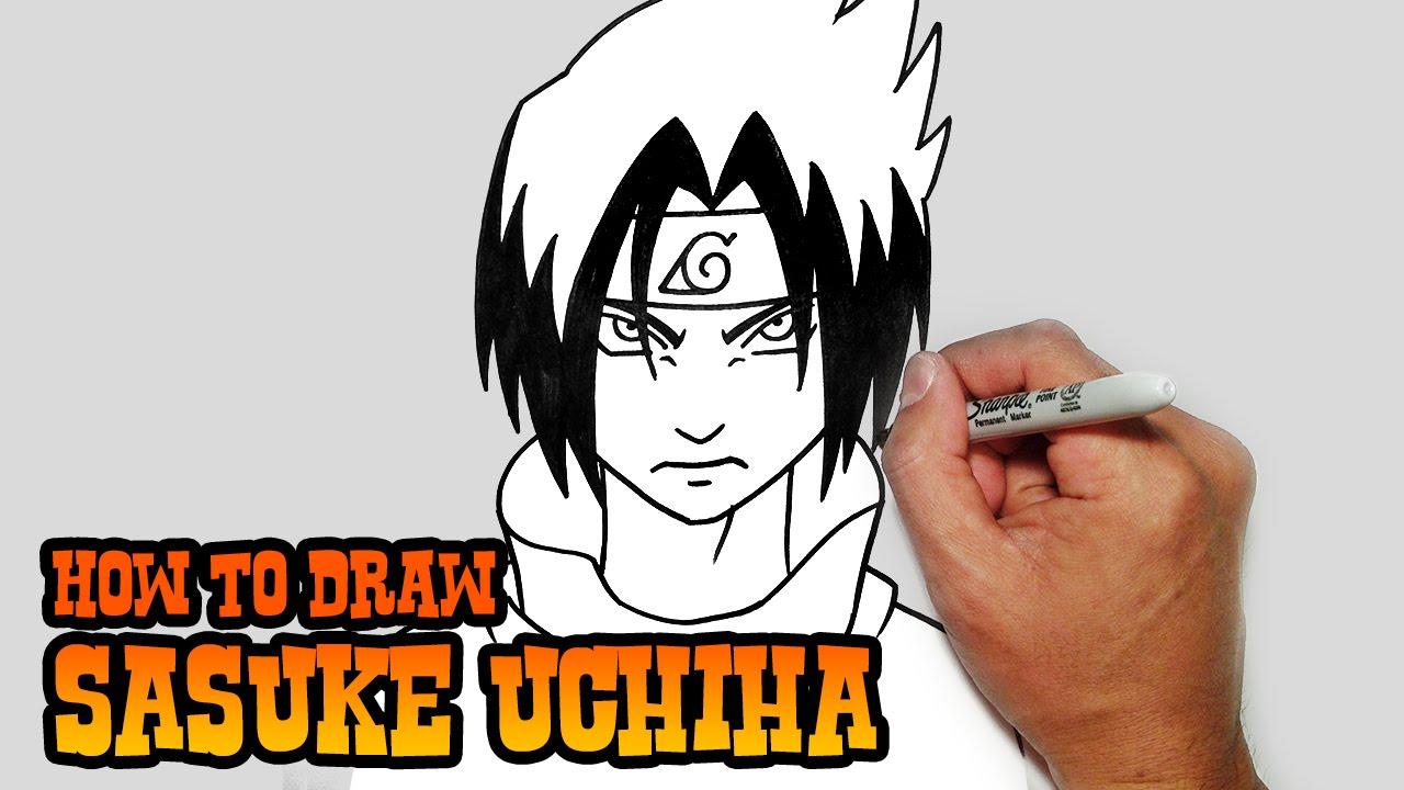 Drawn naruto cartoon Uchiha YouTube Step by Lesson