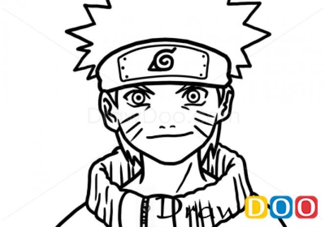 Drawn naruto cartoon How Characters  to Draw