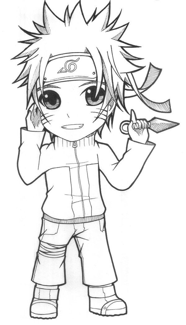 Drawn naruto chibi Aeruko Aeruko by on DeviantArt