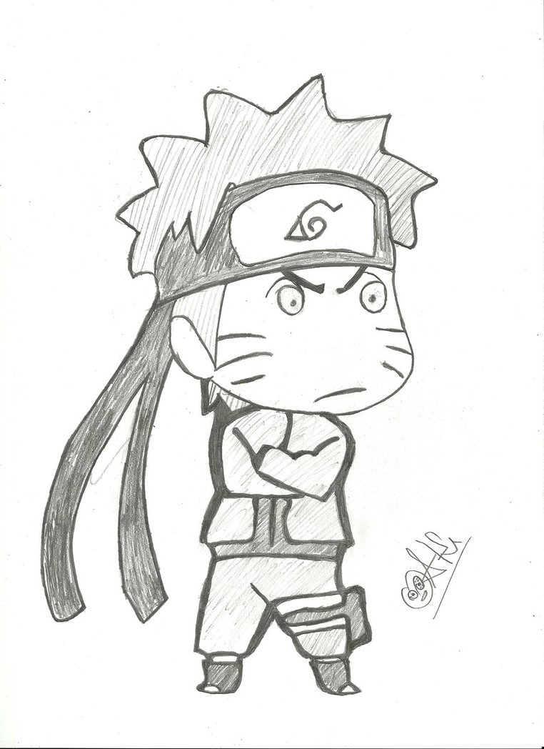 Drawn naruto chibi Oak oak robo on DeviantArt