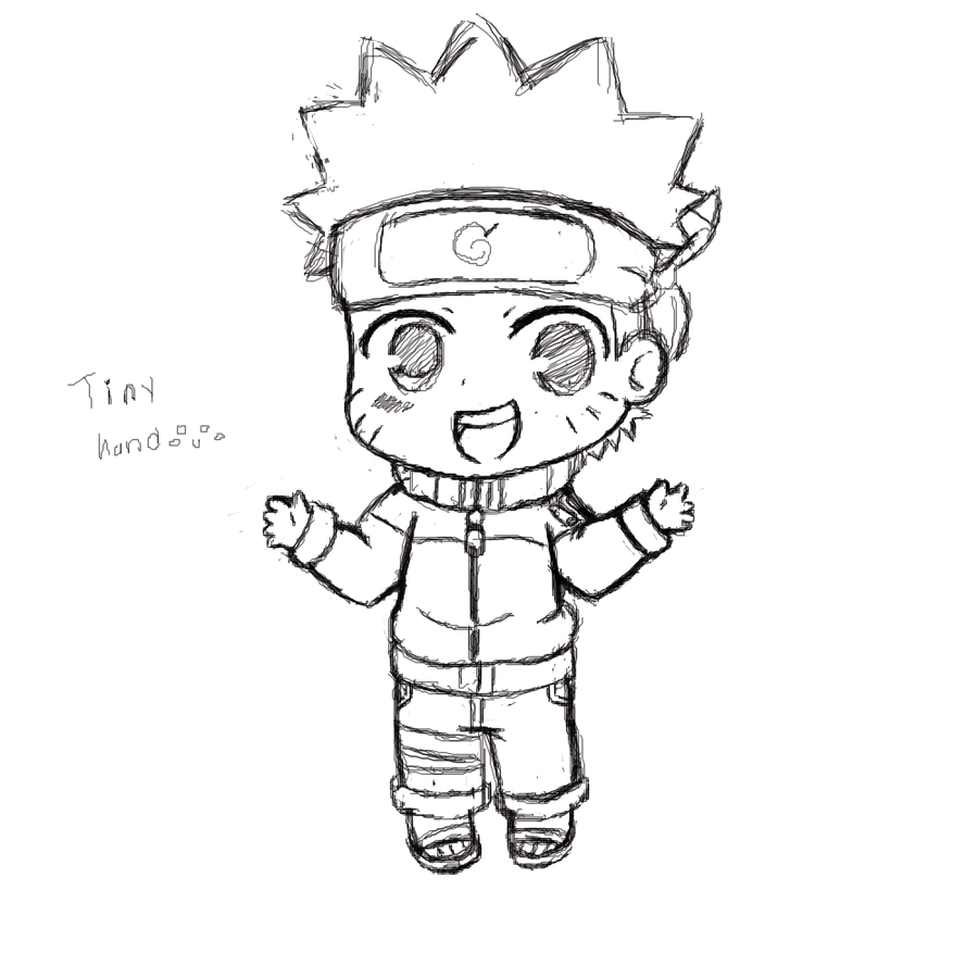 Drawn naruto chibi Chibi DeviantArt Naruto on SuperTuffPinkPuff