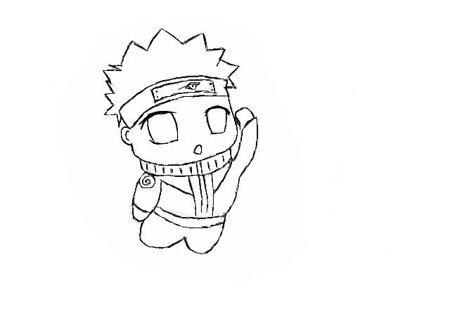 Drawn naruto chibi By Chibi BlizzardClan Naruto Chibi