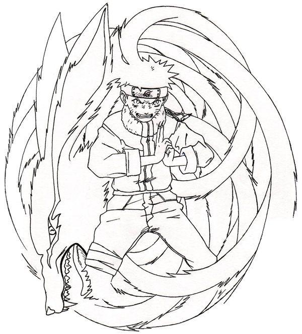 Drawn naruto demon anime 53 about Pinterest images naruto