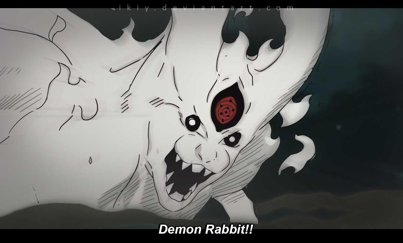 Drawn naruto demon anime On Demon Shippuden Rabbit Shippuden