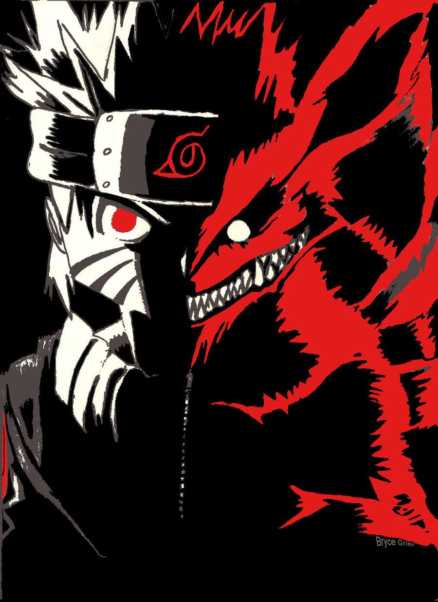 Drawn naruto demon anime 269 on Explore Inner narutoninetails