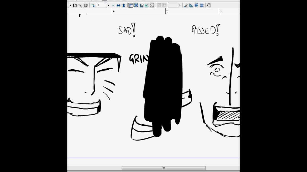 Drawn naruto different style Video Tutorial: to Draw Draw