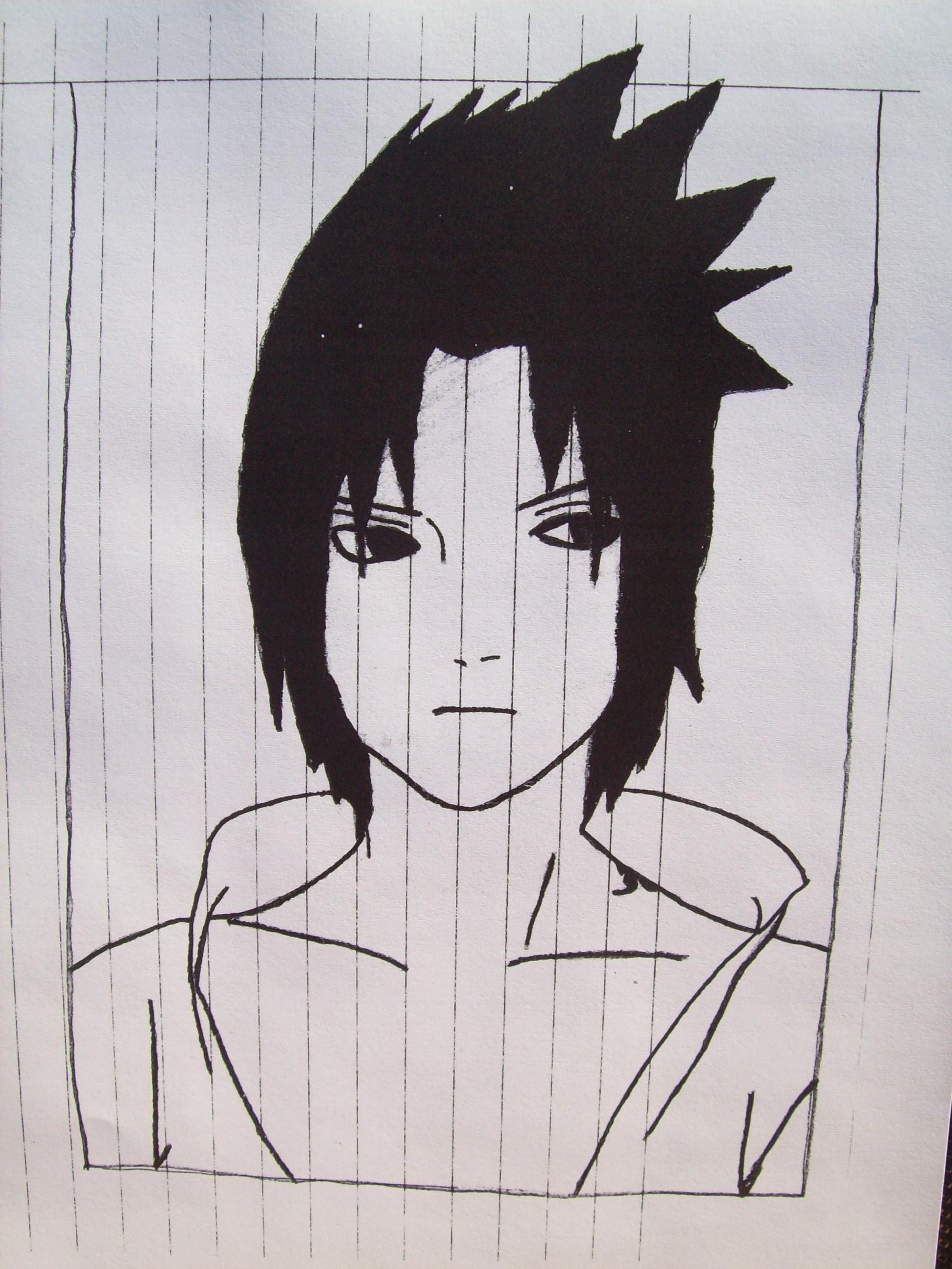 Drawn naruto dragoart © Naruto  From Sasuke