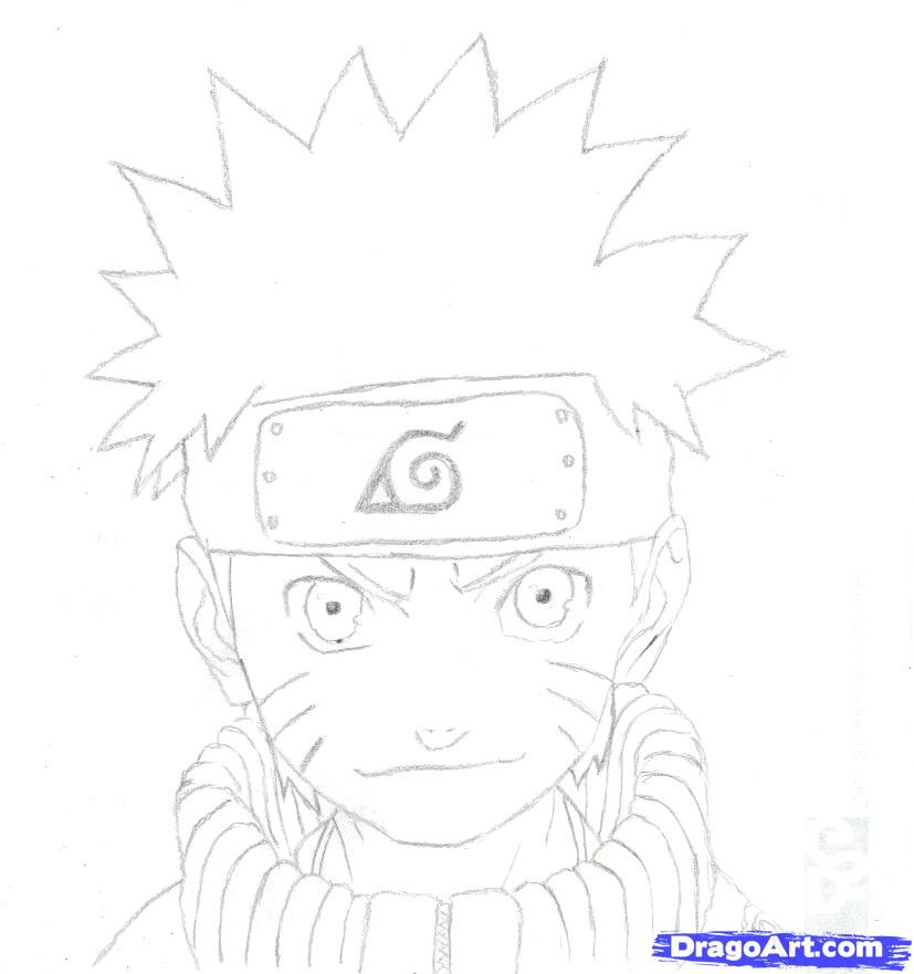Drawn naruto dragoart By to Anime How how