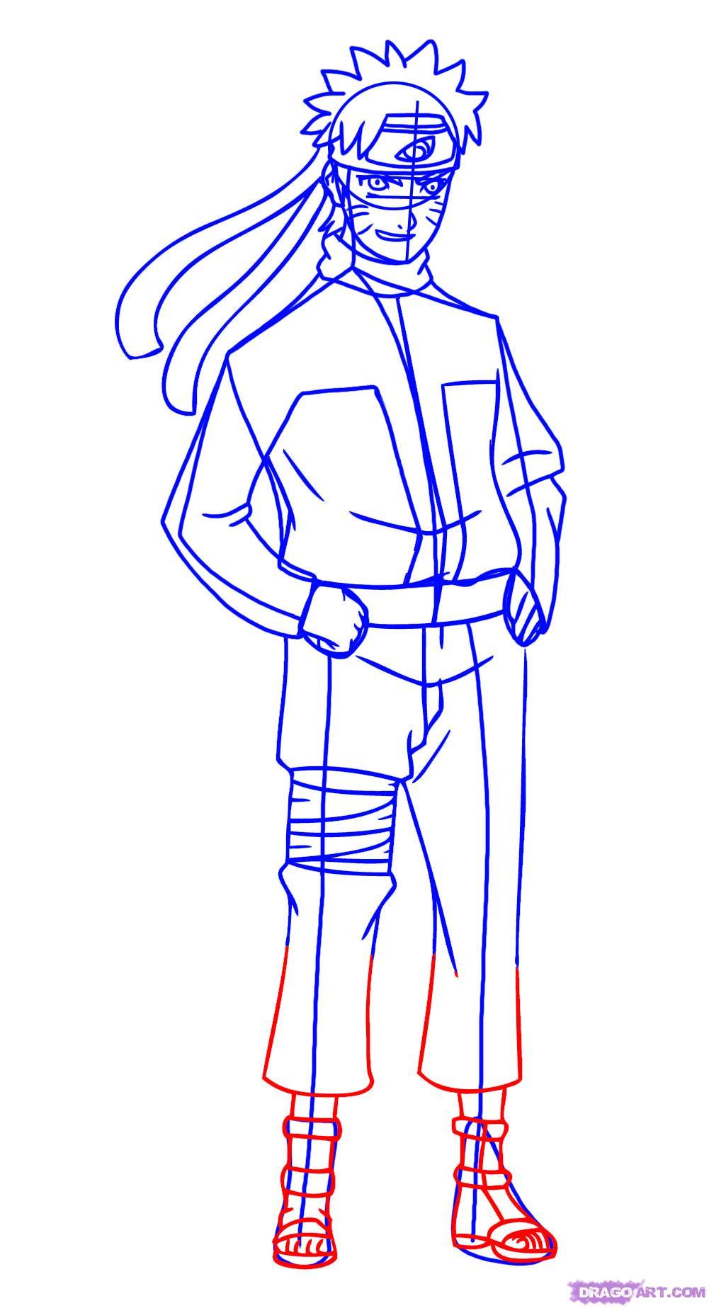 Drawn naruto dragoart Shippuden How Naruto 7 how
