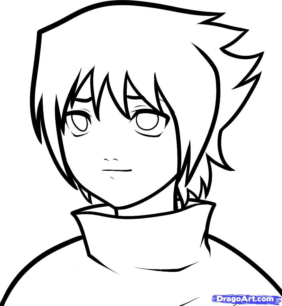 Drawn naruto dragoart Baby 8 by step
