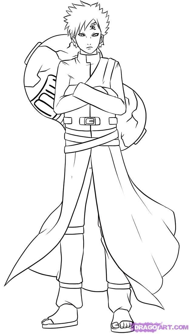 Drawn naruto dragoart Anime Shippuden Naruto Anime Characters