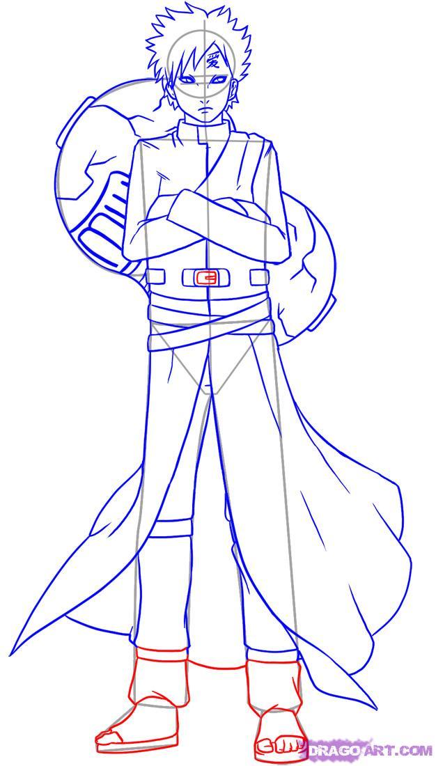 Drawn naruto dragoart Shippuden How Naruto 11 how