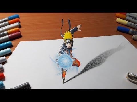Drawn naruto draw Naruto Rasengan in Drawing Rasengan