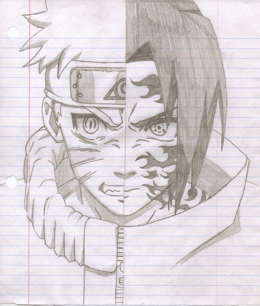 Drawn naruto draw Drawings sasuke Drawings Naruto naruto