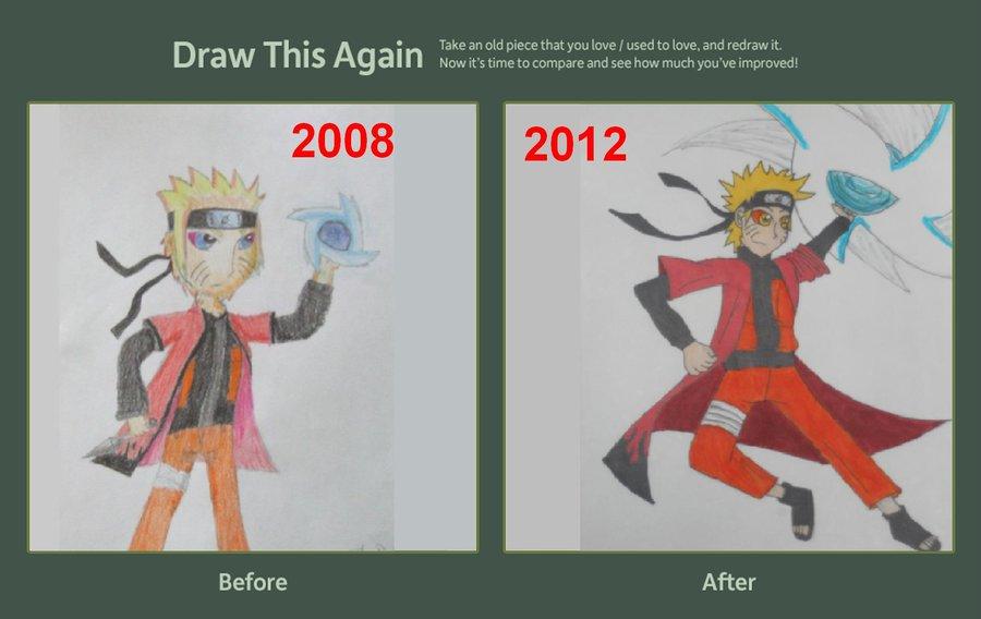 Drawn naruto draw this Drawn DeviantArt Ram3nLuvr666 on Naruto