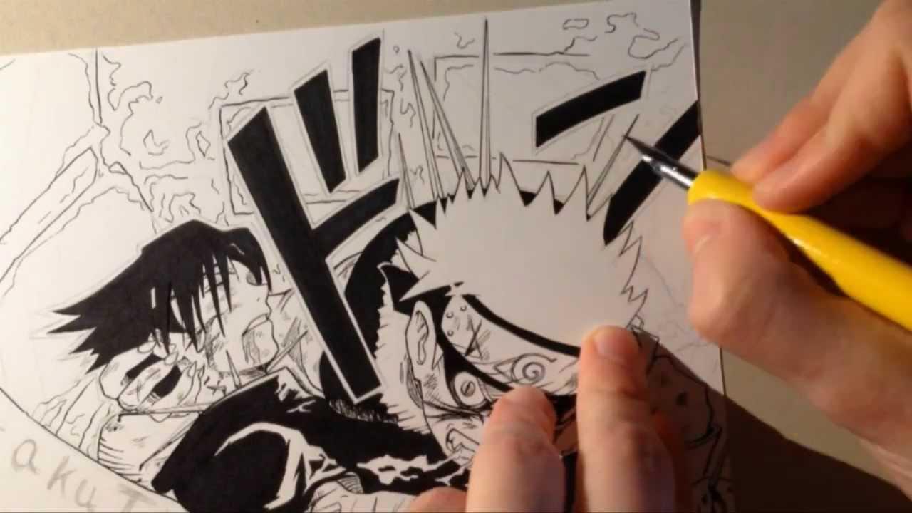 Drawn naruto draw this NARUTO  YouTube Speed Drawing