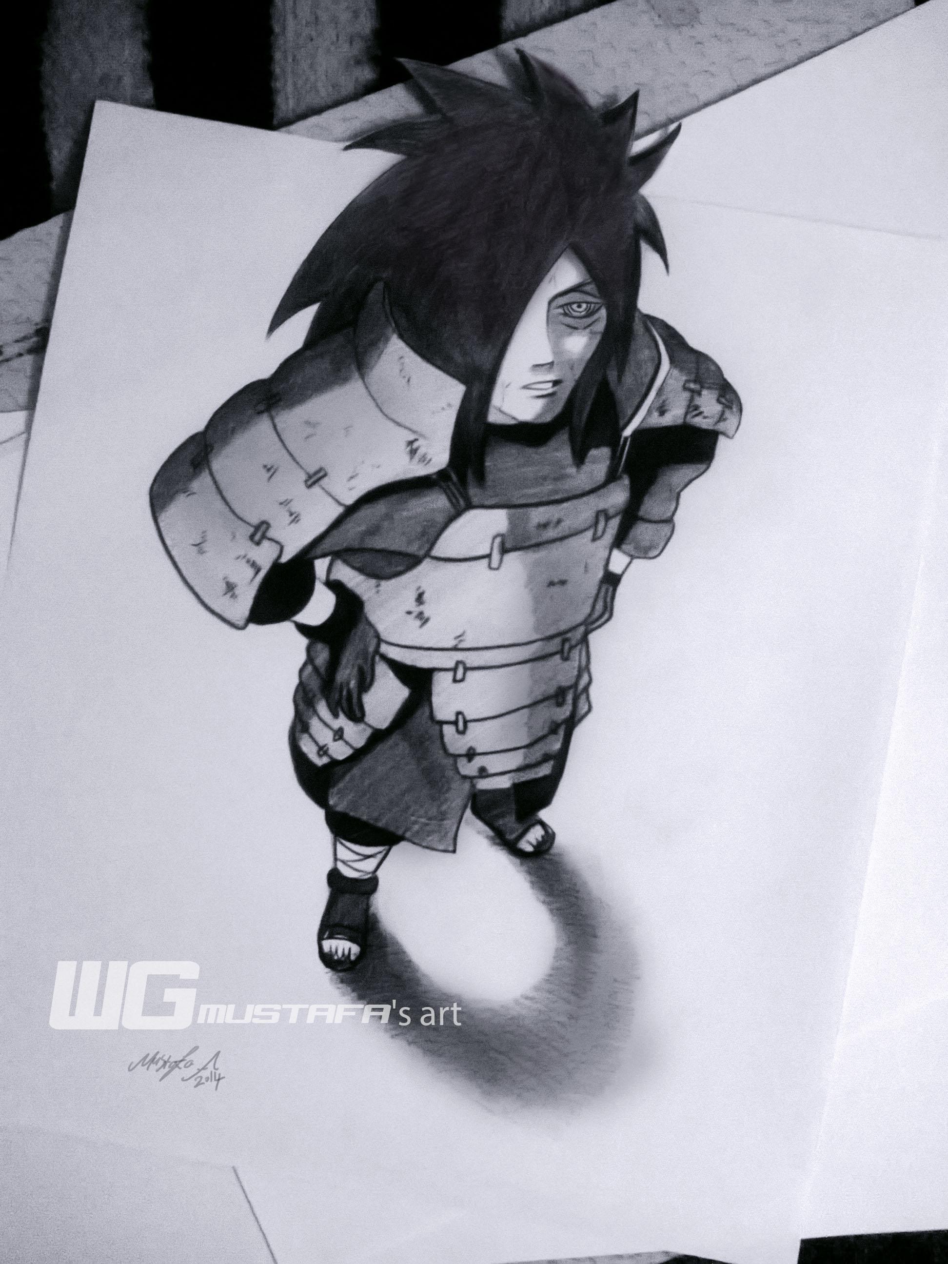 Drawn naruto draw this Artist uchiha 3D uchiha #naruto