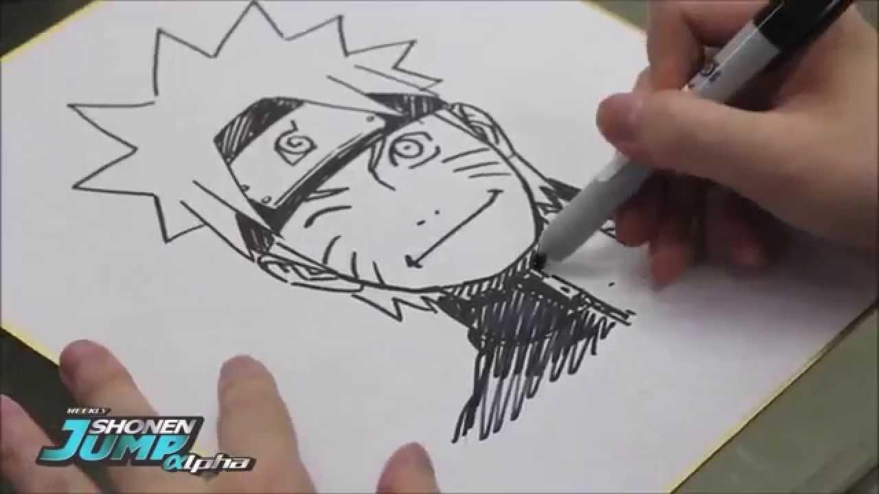 Drawn naruto draw this Masashi  YouTube Naruto Kishimoto