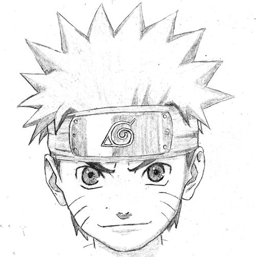 Drawn naruto easy Images best draw 7 about