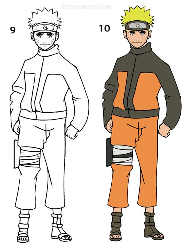 Drawn shoe naruto 5 Naruto Naruto Draw How