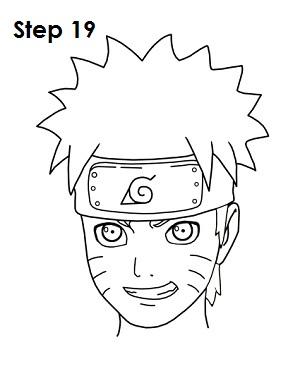Drawn naruto easy 19 Step Naruto Naruto to