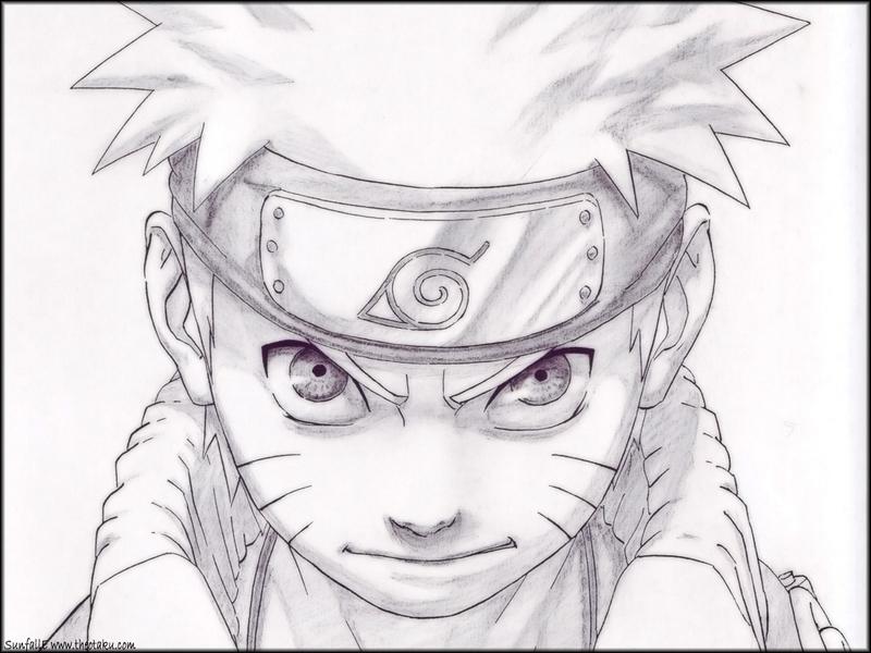 Drawn naruto epic Naruto Sketches Pinterest Draw anime