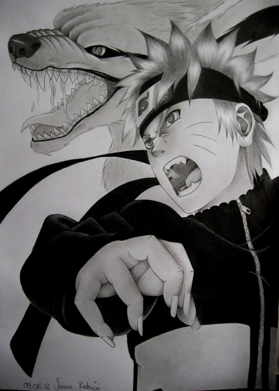 Drawn naruto epic On nagi 3D Iza Sacrifice