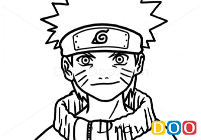 Drawn naruto face To Face  Naruto How