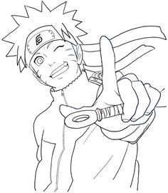 Drawn naruto face Draw by HowToDrawManga3D Tutorial ILikeIt