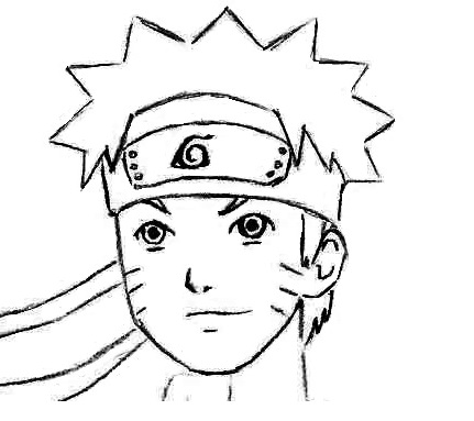 Drawn naruto face Draw Draw how net How