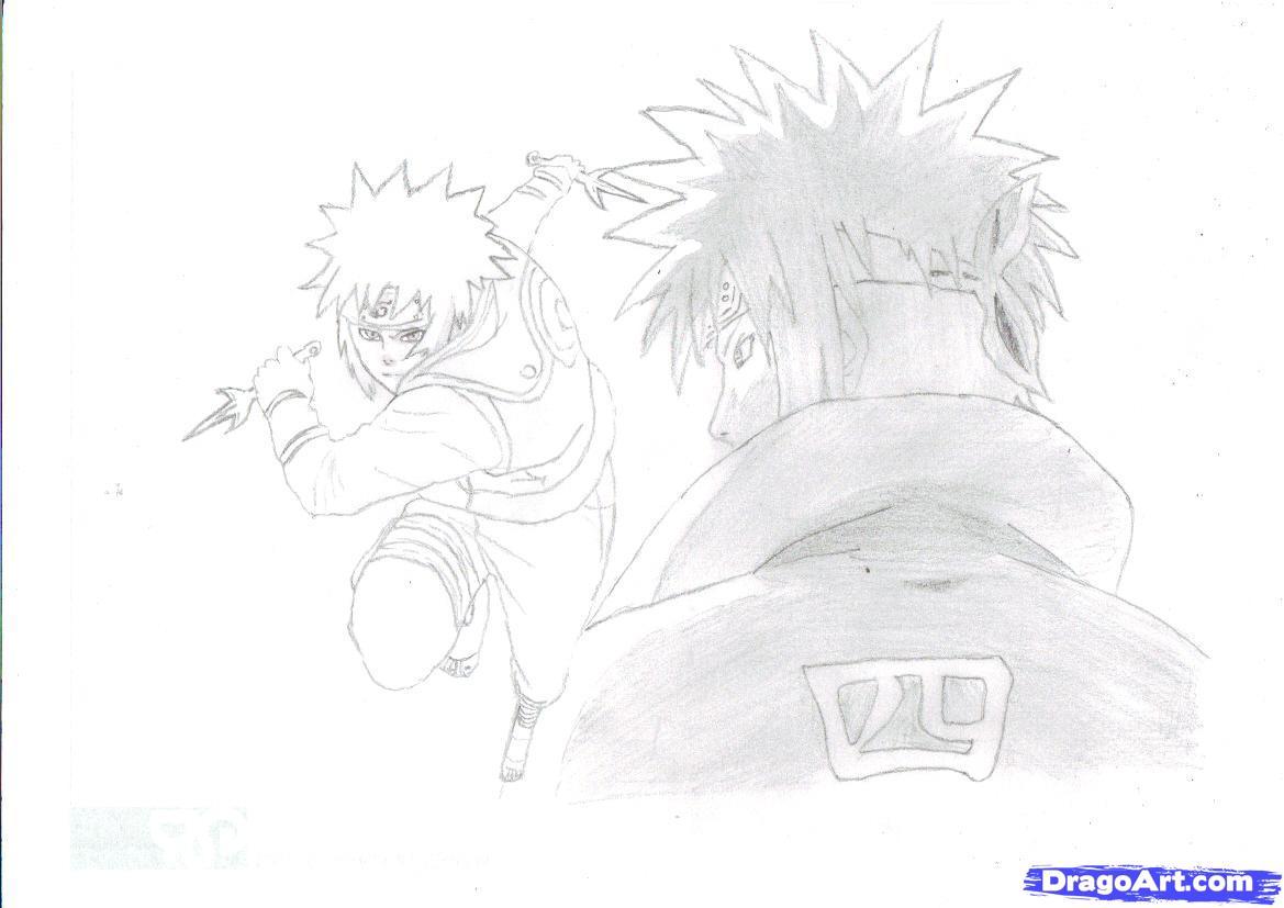 Drawn naruto fourth hokage Slideshow Learn Naruto the How