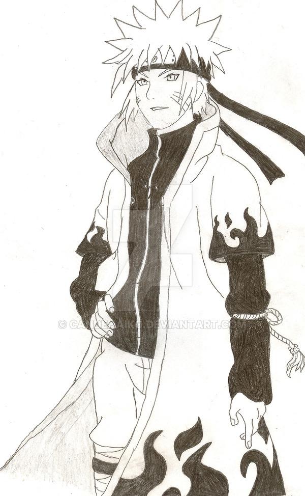 Drawn naruto fourth hokage Yondaime: Hokage CandehAiko Fourth by