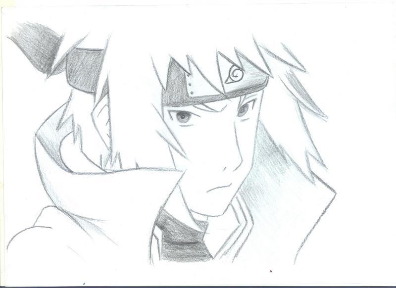Drawn naruto fourth hokage 4th by DeviantArt by PurpleOhana