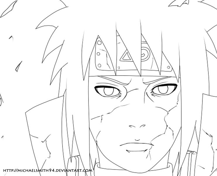 Drawn naruto fourth hokage Naruto 4th Drawing Hokag 618