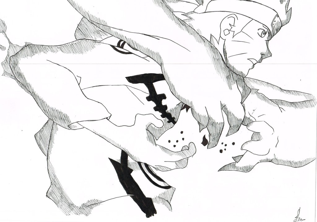 Drawn naruto fox B on Naruto Naruto Nine