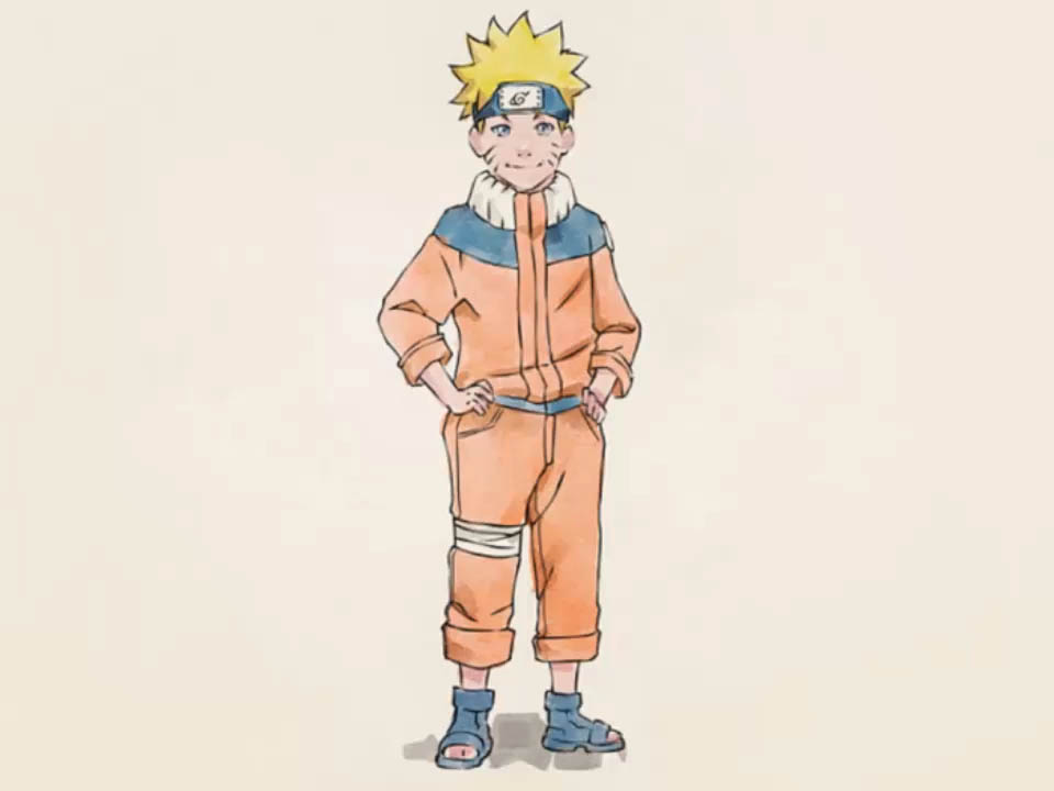 Drawn naruto full body Ways to Draw Naruto Uzumaki