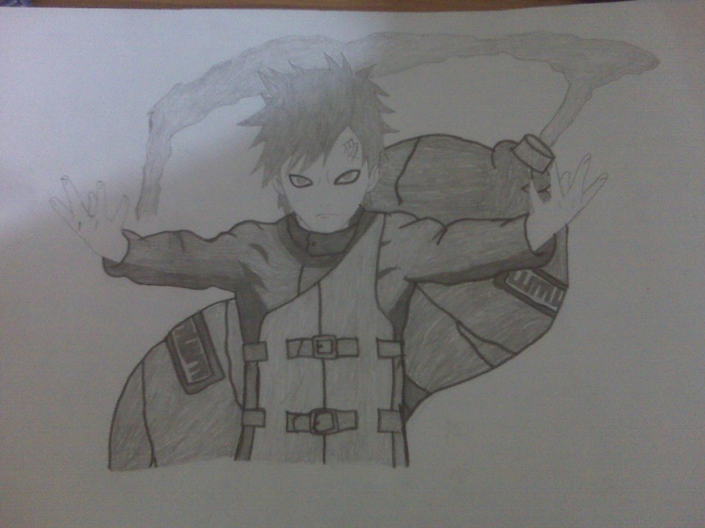 Drawn naruto gaara MysticalDrawer from ^_^ from Drawing:
