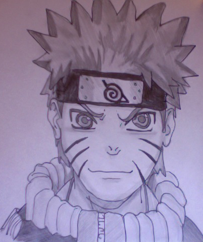 Drawn naruto hand drawn By by hand DeviantArt ToMnIaLlBrOwN