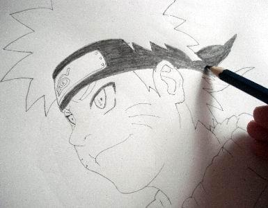 Drawn naruto hand drawn Drawn your ready Using is