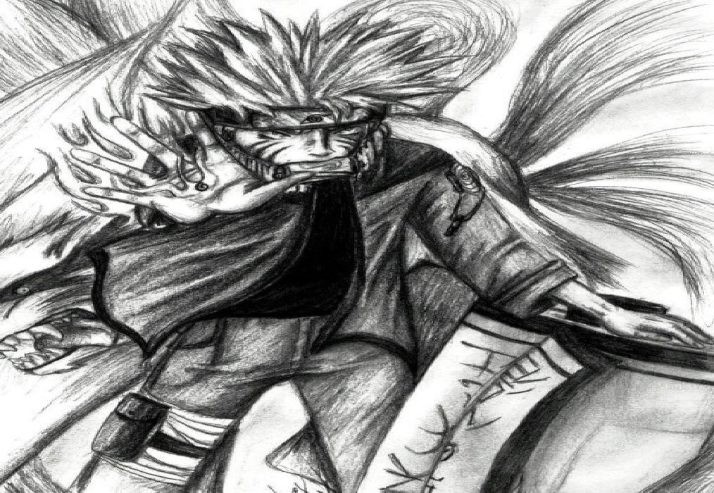 Drawn naruto hand drawn Drawn Naruto hand